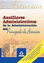 Auxiliares administrativos principado de