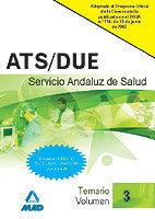Ats/due servicio andaluz salud iii temario