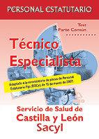 Tecnicos especialistas del sacyl. test de la parte comun