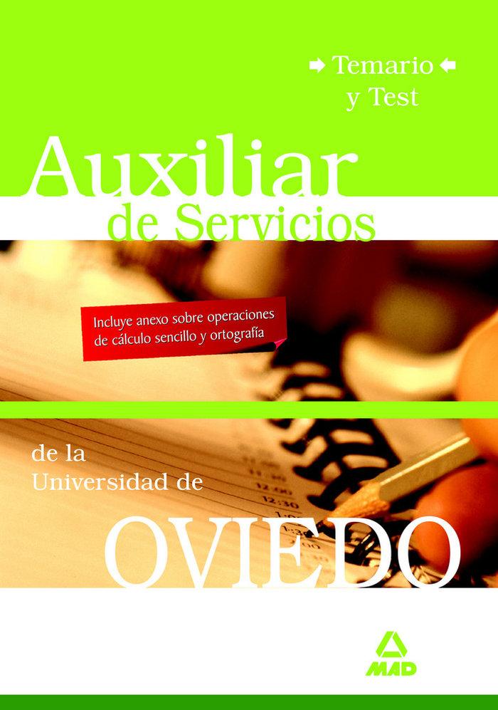 Auxiliares de servicios de la universidad de oviedo. temario