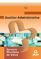 Auxiliar administrativo servicio murciano