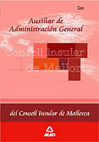 Auxiliar de administracion general del consell insular de ma