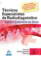 Tecnicos especialistas de radiodiagnostico del servicio extr