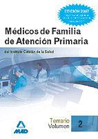 Medicos de familia del instituto catalan de la salud. temari