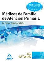 Medicos de familia del instituto catalan de la salud. test d