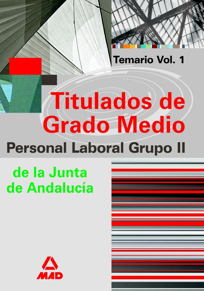 Personal laboral grupo ii vol.i titulados g.m.junta andaluci