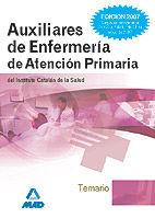 Auxiliares de enfermeria de atencion primaria del instituto