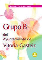 Grupo b del ayuntamiento de vitoria-gasteiz. temario parte g