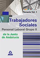 Trabajadores sociales j.andalucia p.laboral grupo ii vol.i