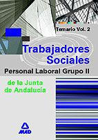 Trabajadores sociales j.andalucia p.laboral grupo ii vol.2