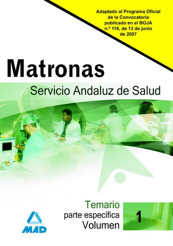 Matronas del servicio andaluz de salud especifica i