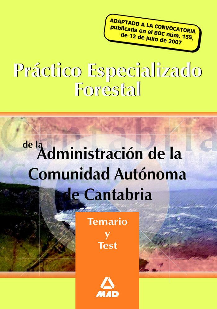 Practico especializado forestal de la administracion de la c