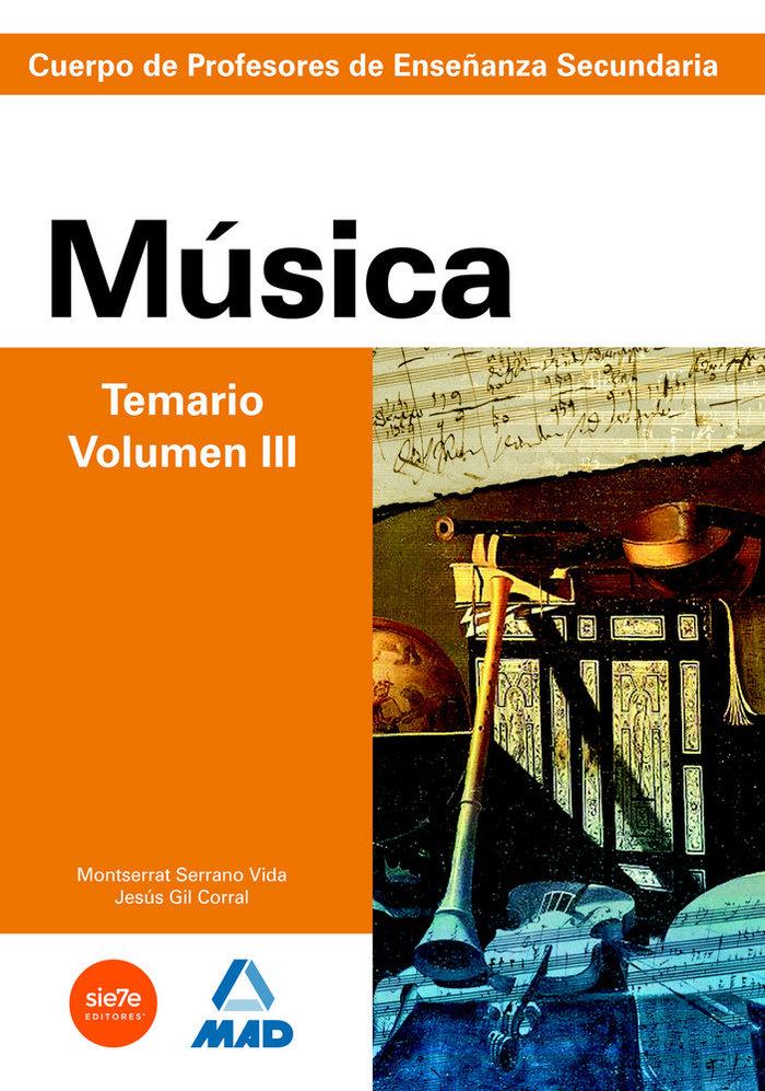 Musica iii profesores eso temario preparacion oposiciones
