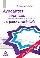Ayudantes tecnicos medio amb. j.andalucia temario comun