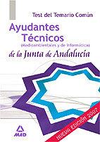 Ayudantes tecnicos medioamb.j.andalucia test temario comun