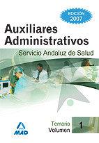 Auxiliares administrativos temario i servicio andaluz salud