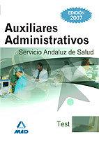 Auxiliares administrativos simulacros examen servicio andalu