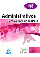 Administrativos servicio andaluz salud temario vol.iii