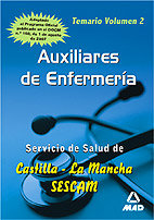 Auxiliar enfermeria catilla temario ii