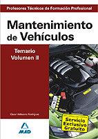 Cuerpo profesores tecnicos fp mantenimiento vehiculos vol ii
