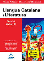 Cos de professors d`ensenyament secundari. llengua catalana