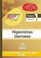 Higienistas dentales del servicio de salud de castilla-la ma