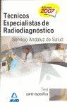 Tecnicos especialistas radiodiagnostico test