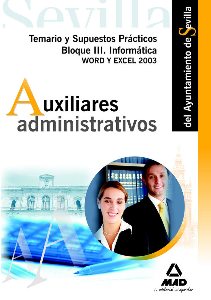 Auxiliares administ.ayunt.sevilla temario bloque iii