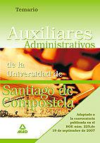 Auxiliares administrativos de la universidad de santiago de