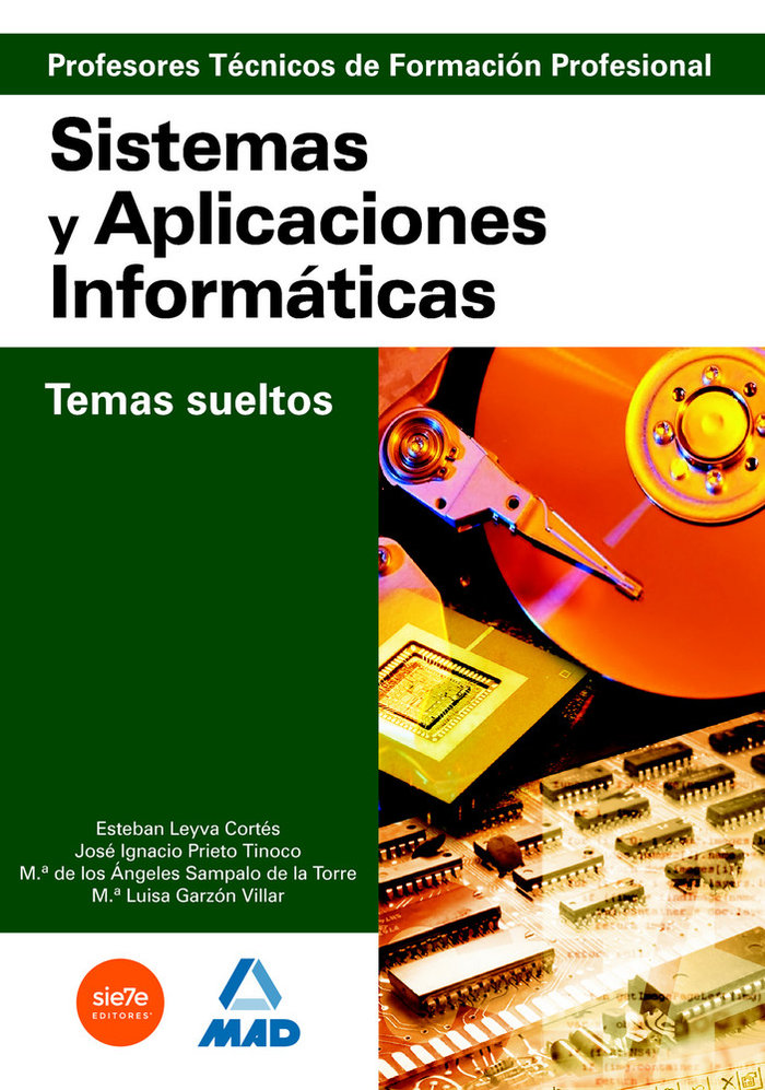 Profesores tecnicos formacion profesional sistemas aplic.