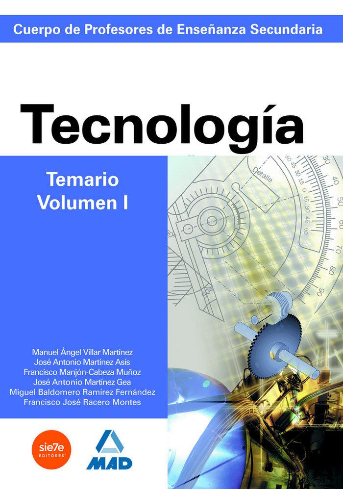 Temario tecnologia i profesores secundaria
