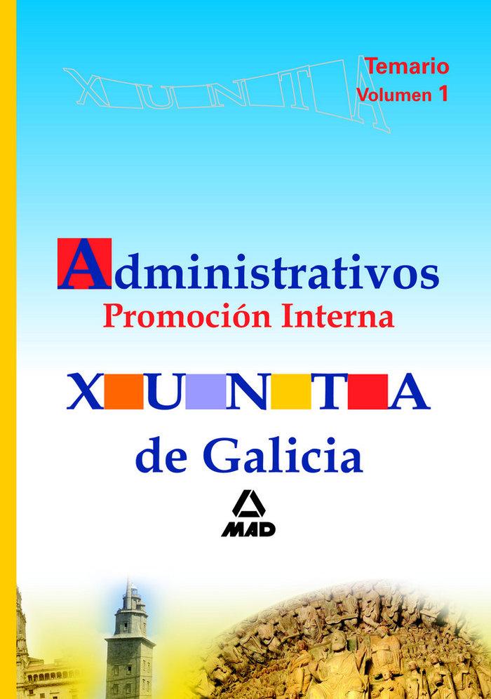 Administrativos de la xunta de galicia. promocion interna. t
