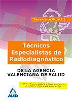 Tecnico especialista de radiodiagnostico, de instituciones s