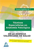 Tecnico especialista en anatomia patologica, de institucione