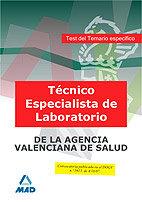 Tecnico especialista de laboratorio, de instituciones sanita