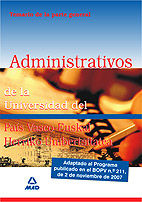 Administrativos de la universidad del pais vasco-euskal herr