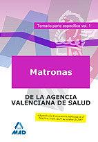 Matronas de la agencia valenciana de salud. temario parte es