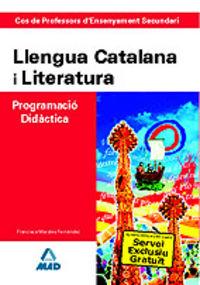 Cos de professors d'ensenyament secundari, llengua catalana