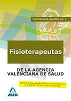 Fisioterapeutas de la agencia valenciana de salud. temario p