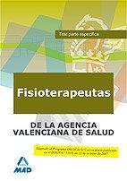 Fisioterapeutas de la agencia valenciana de salud. test part