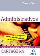 Administrativos de la universidad politecnica de cartagena.