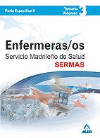 Enfermeros del servicio madrileño de salud (sermas). temario