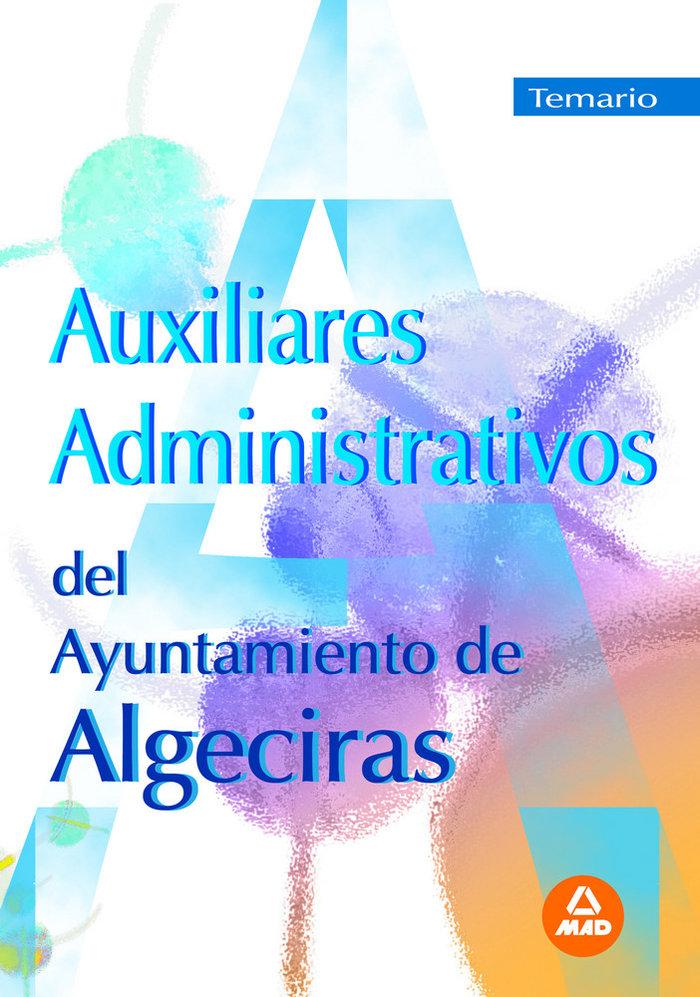 Auxiliares administrativos ayuntamiento algeciras temario