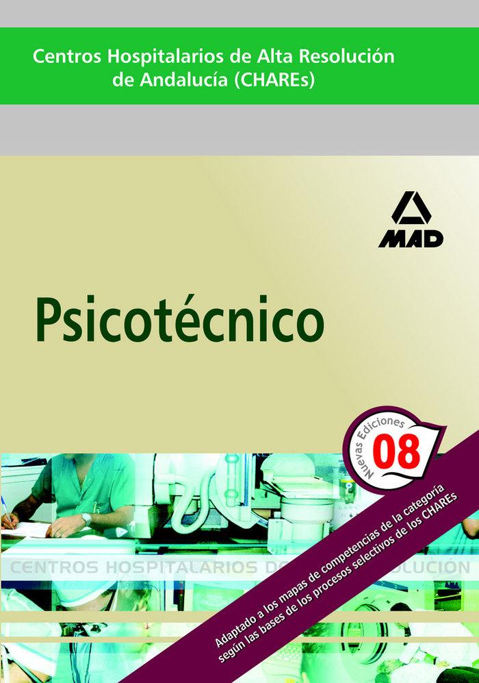 Centros hospitalrios alta resolucion and. psicotecnico
