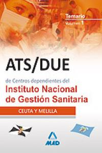 Ats-due instituto nacional gestion sanitaria i