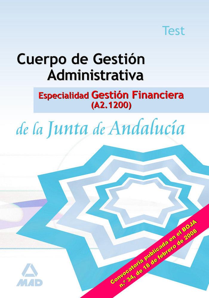 Cuerpo gestion adm.espec.gestion financiera test junta and.