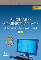 Auxiliares administrativos del servicio canario de salud. te