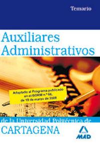 Auxiliares administrativos, universidad politecnica de carta