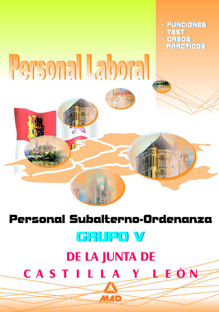 Personal subalterno-ordenanza, grupo v, personal laboral, ju