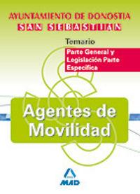 Agentes de movilidad, ayuntamiento de donostia-san sebastian